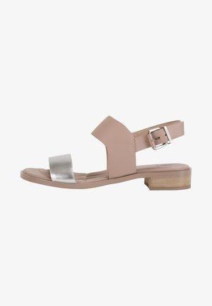 MIT BREITEN RIEMCHEN - Sandals - silver-adobe ros
