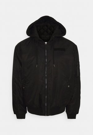BOMBER - Bomber Jacket - black