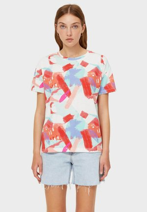 T-shirt con stampa - light red