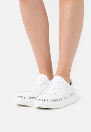 BASSA CONTORNO LOGATO - Sneakers laag - bianco ottico