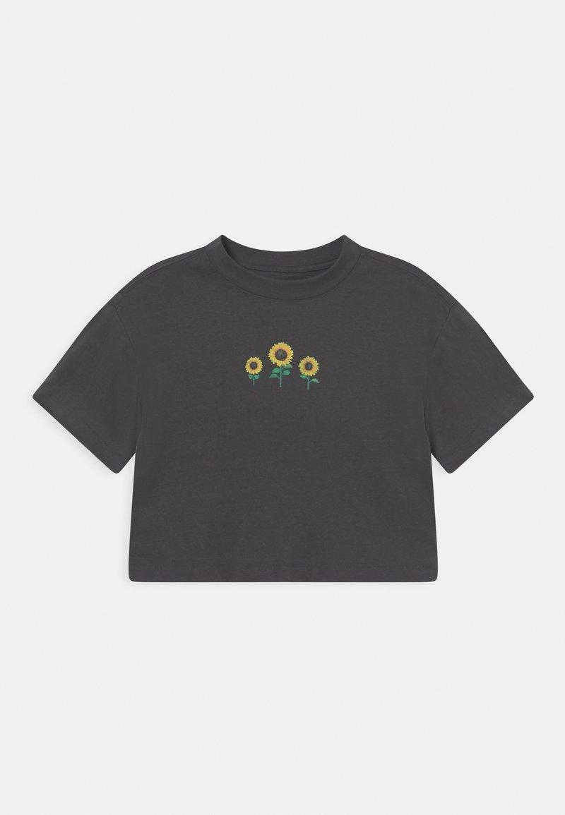 GAP - GIRL - T-shirt imprimé - soft black