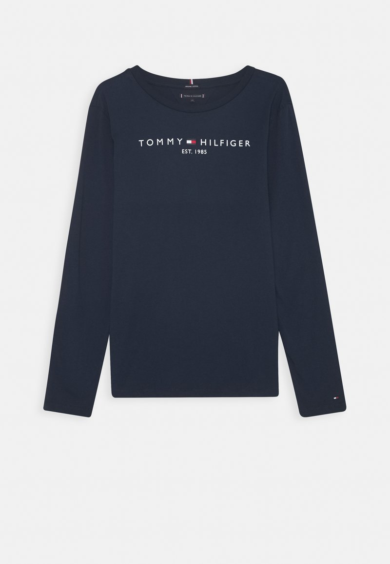 Tommy Hilfiger - ESSENTIAL TEE - Long sleeved top - blue
