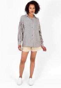 Ro&Zo - Button-down blouse - black - 1
