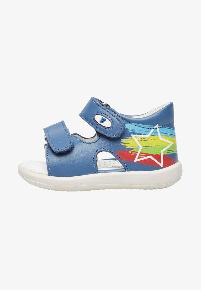 BARRAL - Walking sandals - azurblau