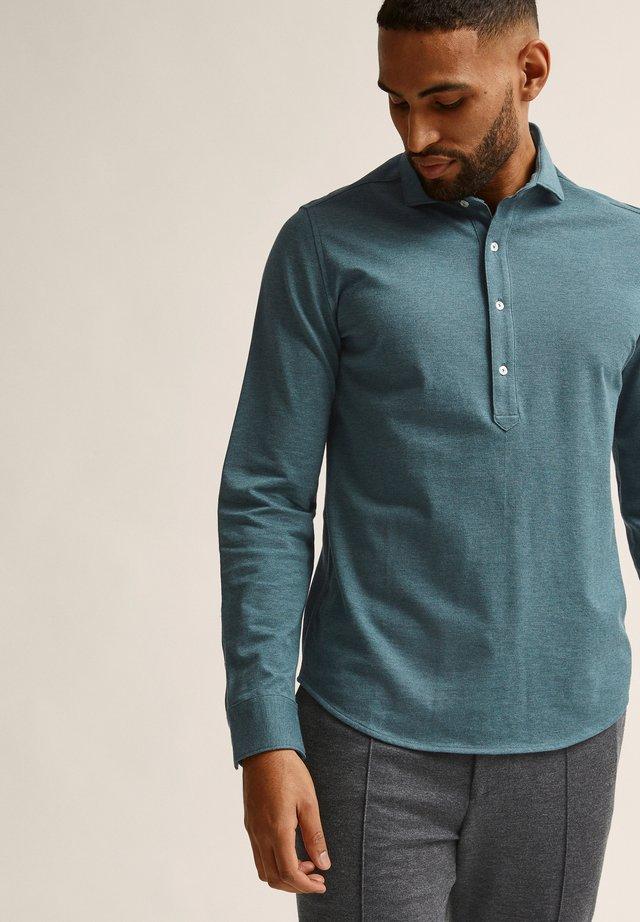 Poloshirt - green melange