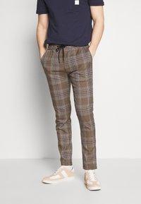 Topman - HERITAGE - Trousers - brown - 0