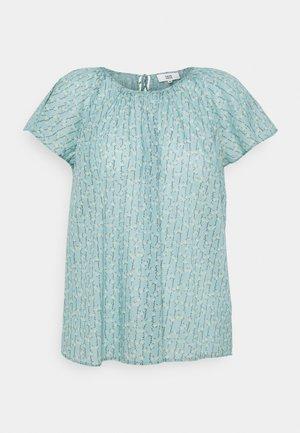 BREEZY VOILE - Print T-shirt - green