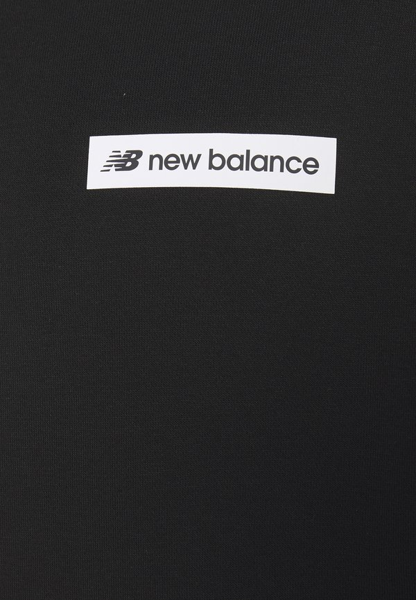 New Balance SPORT STYLE OPTIKS HOODIE - Bluza z kapturem - black/czarny Odzież Męska WHJS