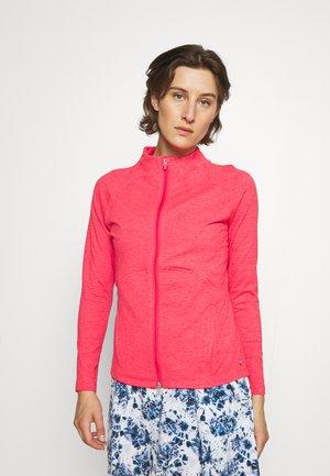 CLOUDSPUN FULL ZIP - Sweater met rits - teaberry heather