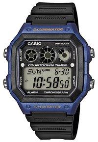 Casio - AE-1300WH-1AVEF - Zegarek cyfrowy - schwarz/blau - 0