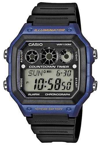 AE-1300WH-1AVEF - Digital watch - schwarz/blau