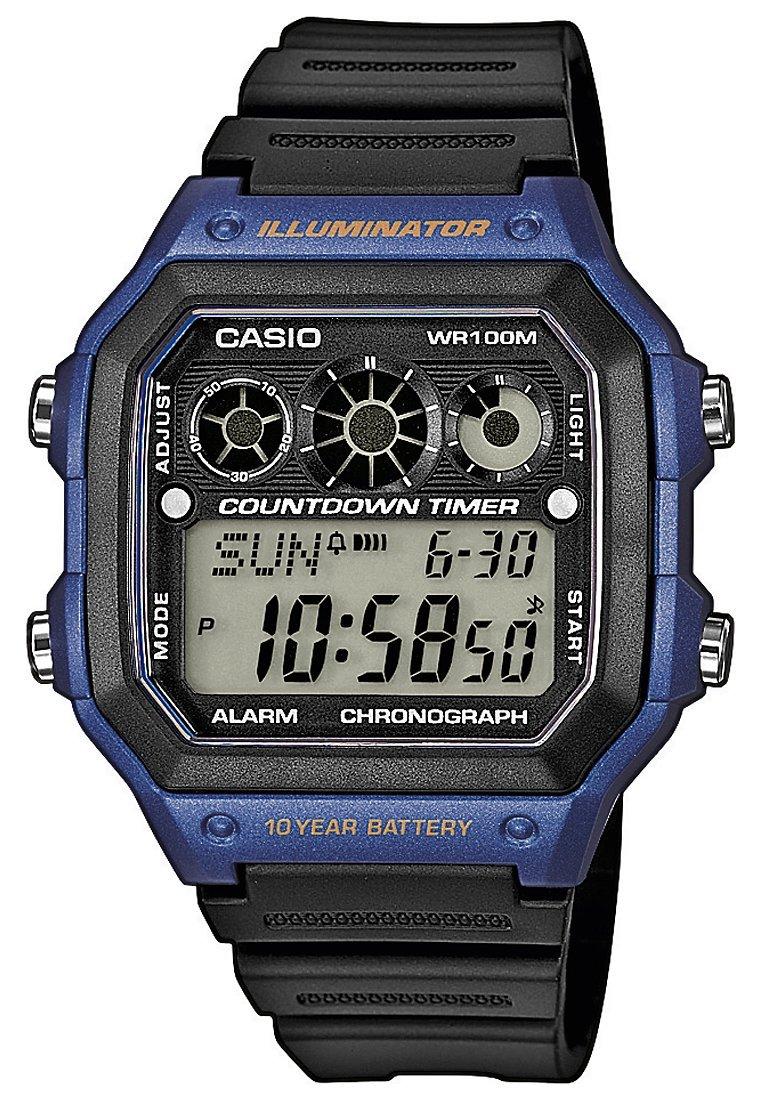 Casio - AE-1300WH-1AVEF - Zegarek cyfrowy - schwarz/blau