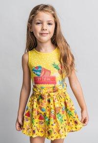 Rosalita Senoritas - FALDA - A-line skirt - light yellow - 0