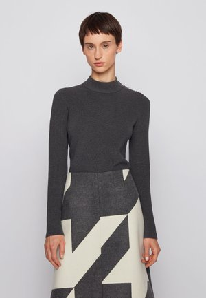 C_FENEVER - Strickpullover - grey