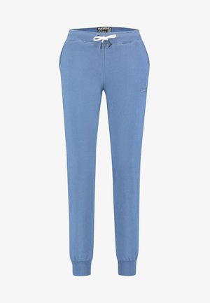 ORANGE LABEL - Tracksuit bottoms - blue