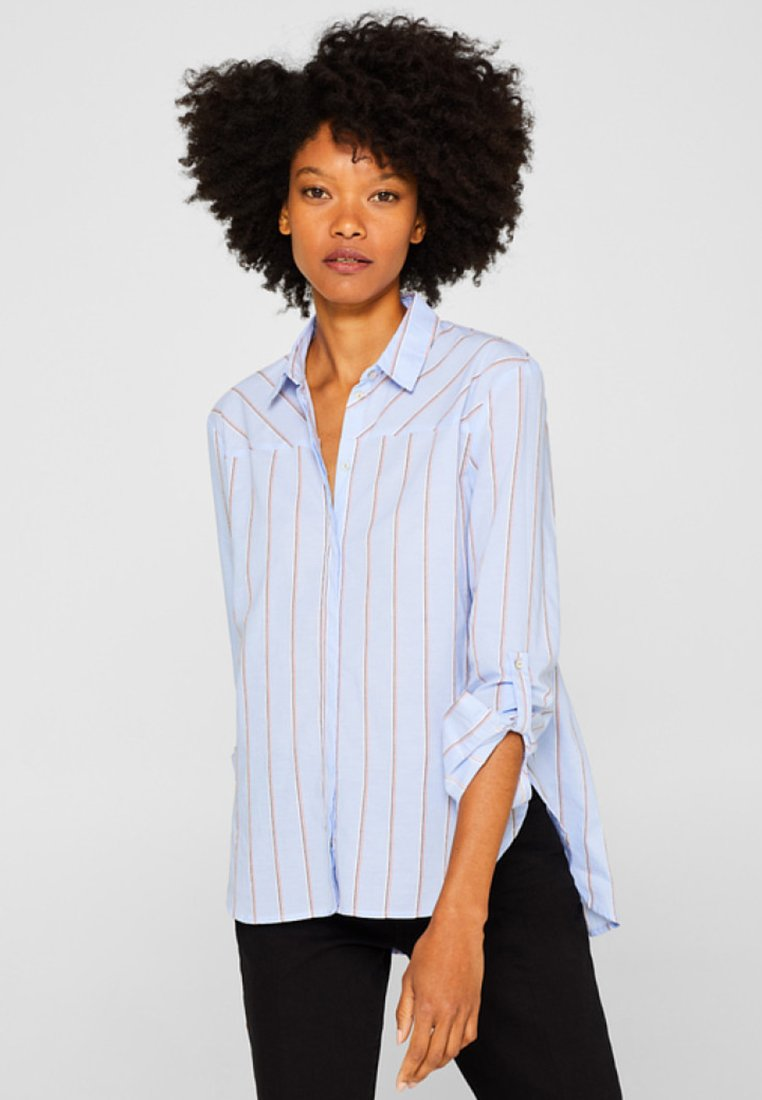edc by Esprit - Button-down blouse - light blue