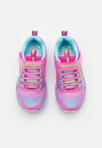 Skechers - HEART LIGHTS - Trainers - pink/multicolor - 3
