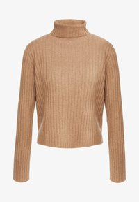 pure cashmere - TURTLENECK - Trui - dark beige - 3