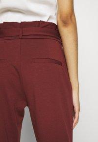 Vero Moda - VMEVA LOOSE PAPERBAG PANT - Pantalon classique - sable - 3
