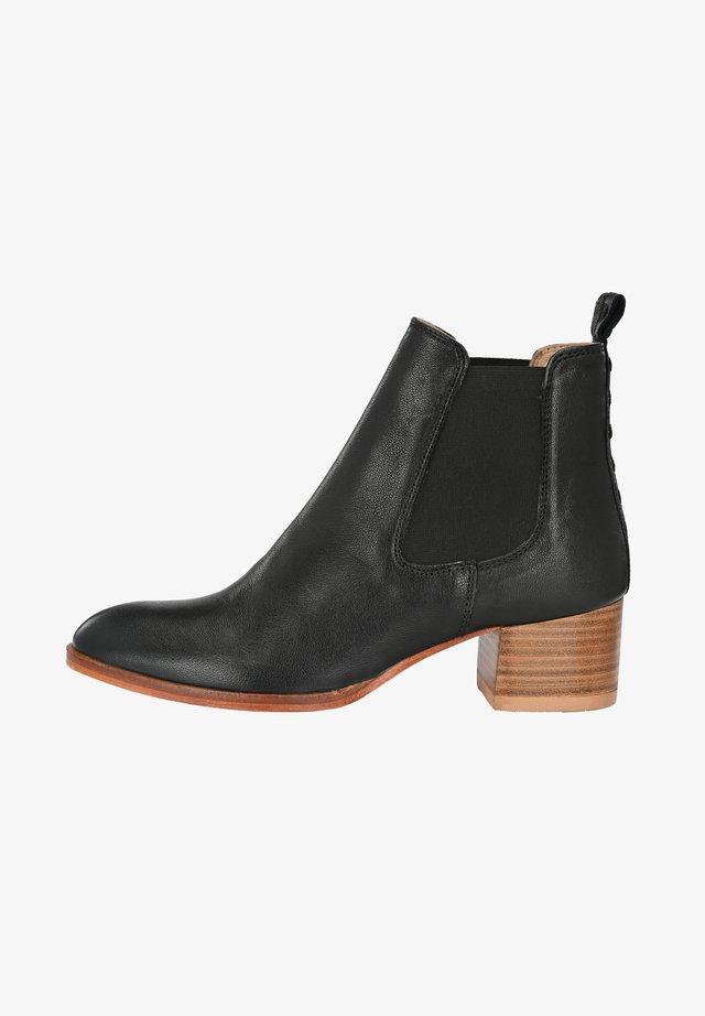 CHRISTINA - Classic ankle boots - black/mottled black