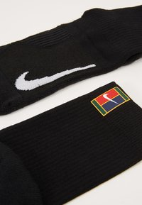 Nike Performance - COURT MULTIPLIER CUSHIONED 2 PACK - Sports socks - black