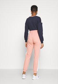 ONLY - ONLASHLEY PANTS - Pantalones deportivos - rose dawn/rose/ apple butter - 2