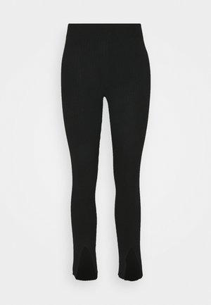 OBJEVA - Trousers - black