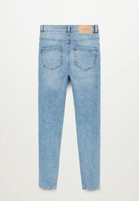 Mango - DINA - Slim fit jeans - azzurro - 1
