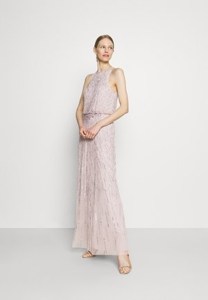 BEADED BLOUSON GOWN - Occasion wear - marble