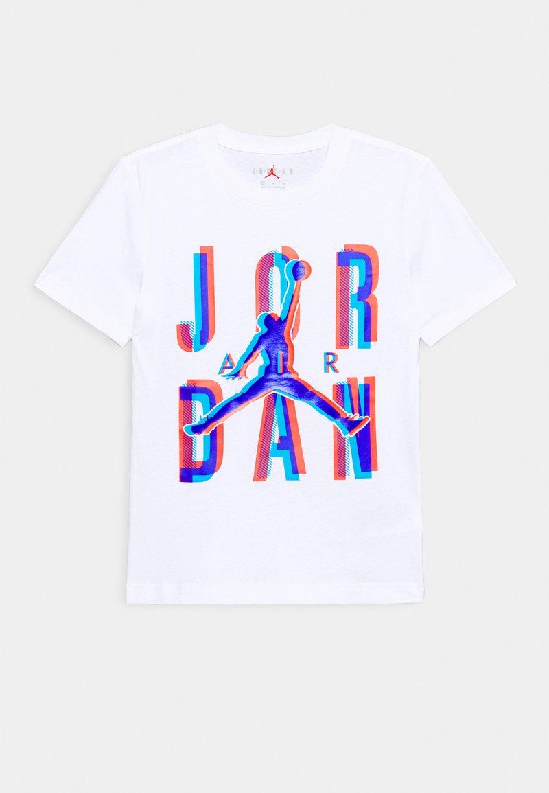 Jordan - SPACE EXPLORATION TEE UNISEX - Printtipaita - white