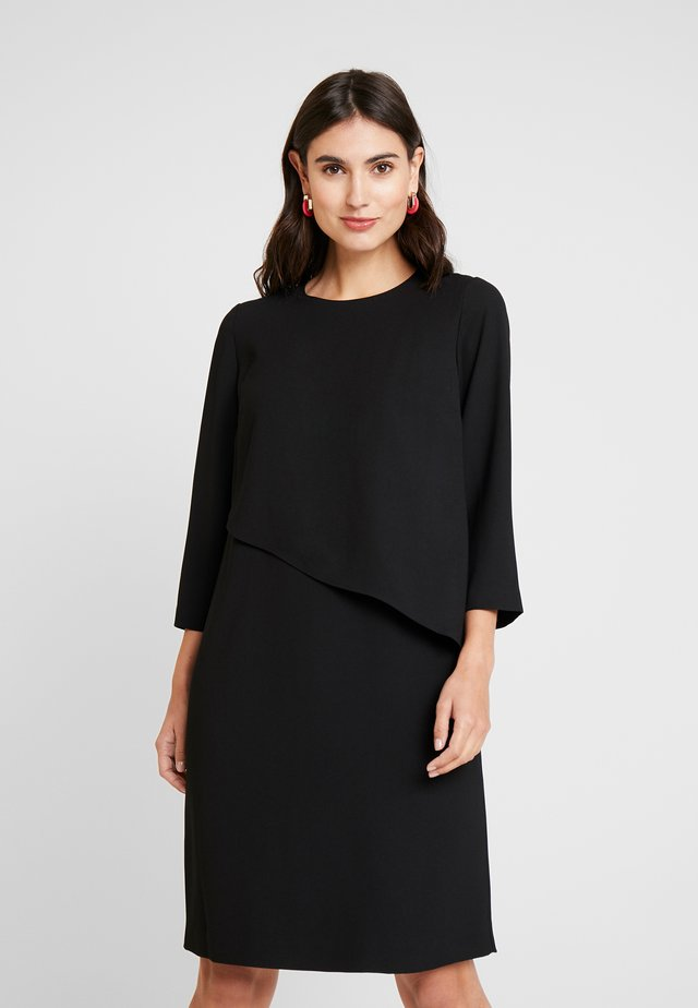CAROLE DRESS - Juhlamekko - black