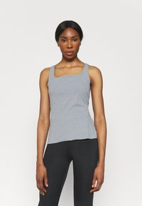 Nike Performance - THE YOGA LUXE TANK - Top - particle grey - 0