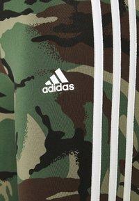 adidas Performance - CAMO LEG - Collants - legacy green/white - 5