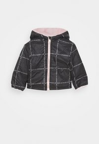 Guess - PADDED HOODED REVERSIBLE BABY - Light jacket - pink sky - 2