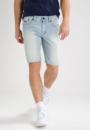 OFFICER - Denim shorts - ice blue