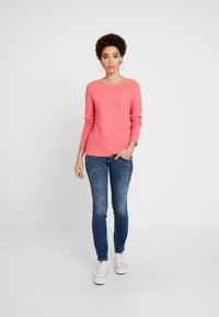 TOM TAILOR - SWEATER NEW OTTOMAN - Jumper - charming pink - 1