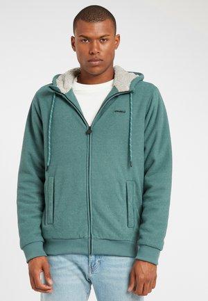 Zip-up hoodie - sea pine