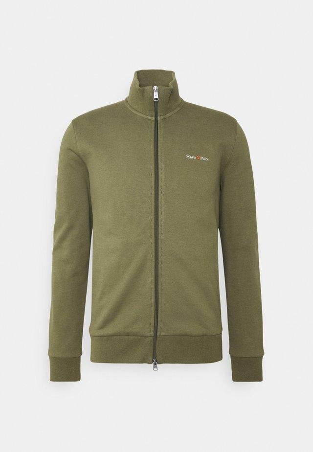 JACKET - Zip-up hoodie - aged oak