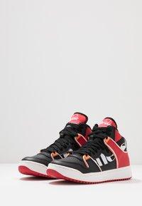 Ellesse - ASSIST - Baskets montantes - black/red/orange - 2
