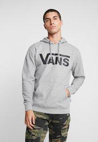 Vans - MN VANS CLASSIC PO HOODIE II - Hoodie - cement heather/black - 0