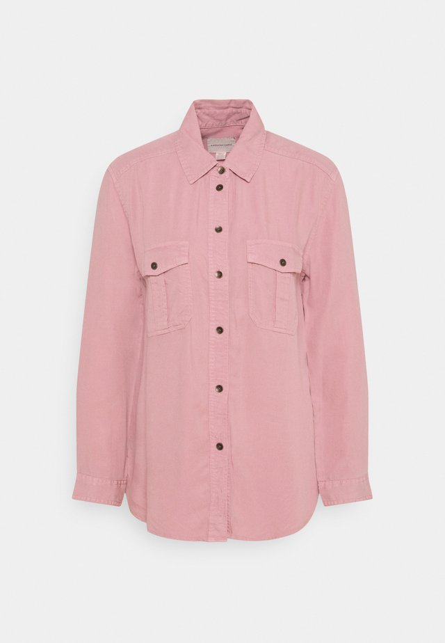 CORE MILITARY - Button-down blouse - dusty pink