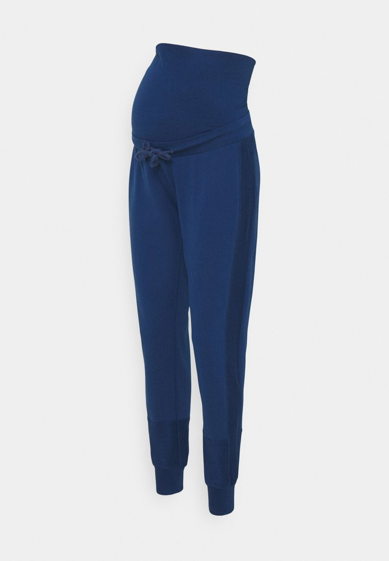 MAMALICIOUS - MLBELMA PANTS - Teplákové kalhoty - estate blue