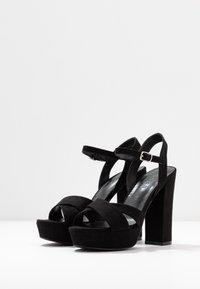 co wren wide fit - Sandaler med høye hæler - black - 4