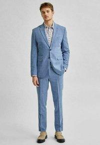 Selected Homme - Giacca elegante - light blue - 1