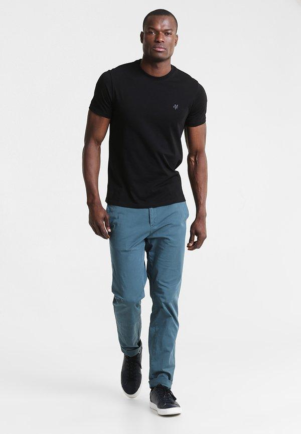 Marc O'Polo C-NECK - T-shirt basic - black/czarny Odzież Męska MBGO