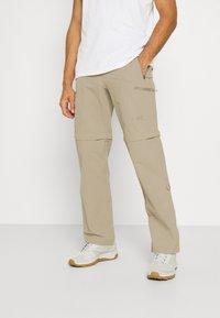 The North Face - EXPLORATION CONVERTIBLE PANT - Pantalones - dune beige - 0