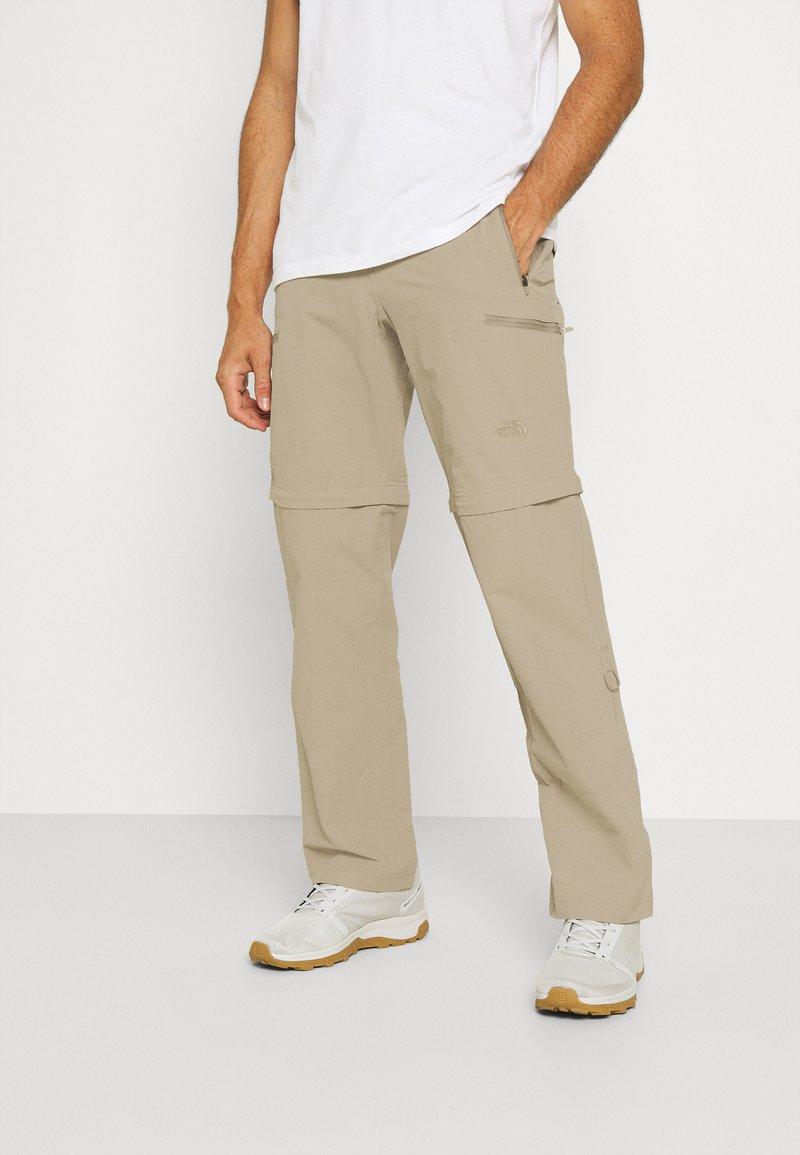 The North Face - EXPLORATION CONVERTIBLE PANT - Pantalones - dune beige