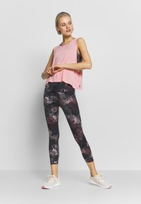 Cotton On Body - CROPPED KEY HOLE WASHED TANK - Top - rose - 1