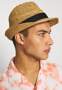 Burton Menswear London - TAN TRILBY - Hat - tan - 1