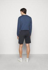 Les Deux - BALLIER TRACK - Teplákové kalhoty - dark navy/white - 2